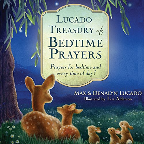 Lucado Treasury of Bedtime Prayers audiobook cover art