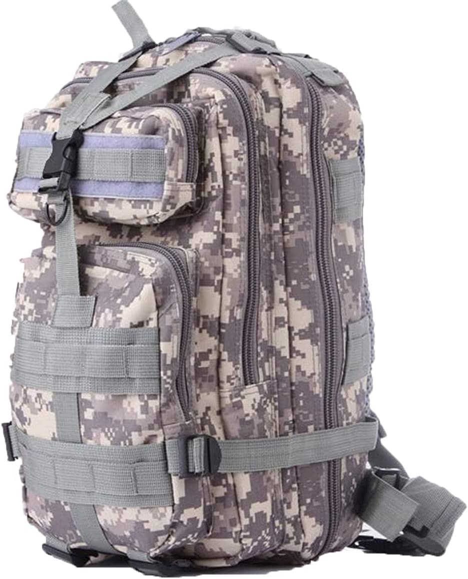 Military Tactical Backpack Army Waterproof Bug Out Bag Small Rucksack for Outdoor Hiking Camping Hunting
