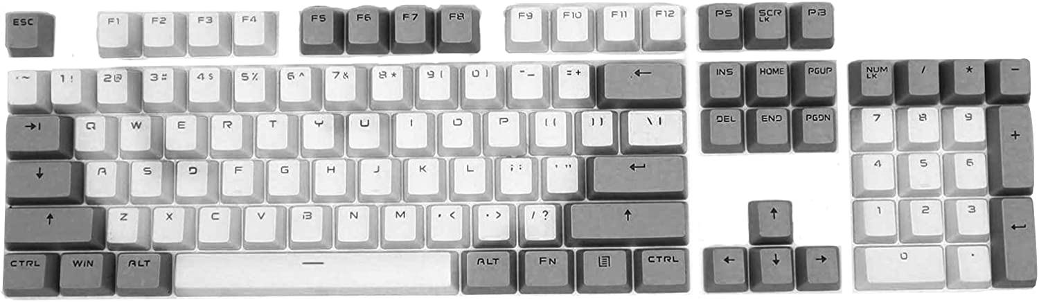 NUZYZ 87-Key Genuine Contrast Color Keyboard PBT R Backlight Mechanical Courier shipping free shipping
