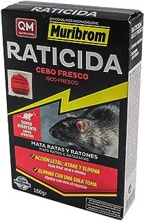 Quimunsa Raticide Bait Fresh, Red, 150 g