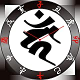 守護梵字時計(酉、カーン)