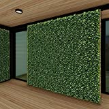 Patio Paradise 6' x 14' Faux Laurel Privacy Fence Screen with Mesh Back-Artificial Leaf Vine Hedge Outdoor Decor-Garden Backyard Decoration Panels Fence Cover