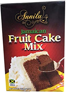 Jamaican Fruit Cake Mix - Annilu 1.7 Lb - Product of Jamaican