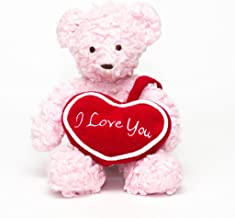 "product image for Bears For Humanity 10"" I Love You Bear, Pink"