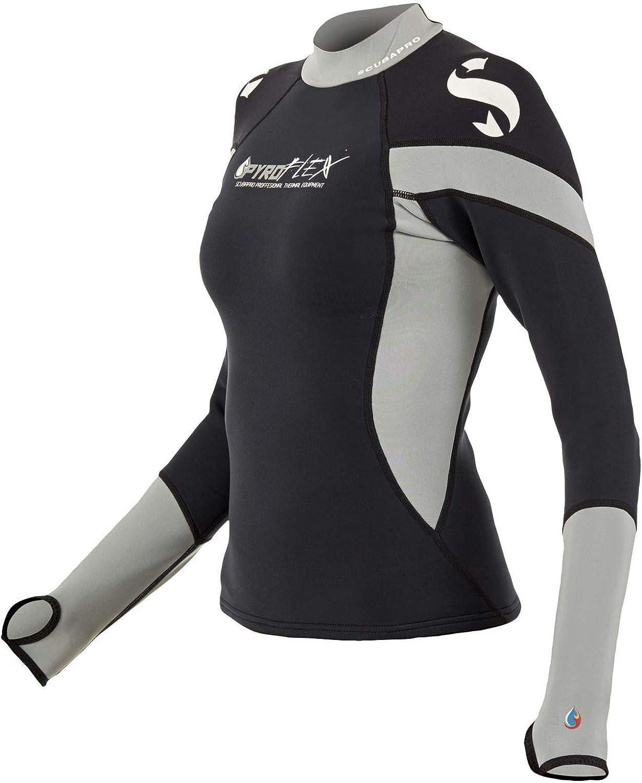 Scubapro Women's Pyroflex Hoodless Long Sleeve Rash Guard