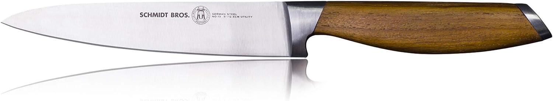 Schmidt depot Brothers - Bonded Super popular specialty store Teak Ge High-Carbon Utility Knife 5