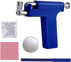 Ear Piercing Tool, Ear Piercing Gun Tool Set, Professional Ear Nose Navel Piercing Machine Painless, Body Piercing Tool wi...
