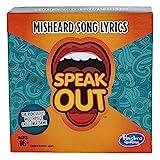 Hasbro Gaming Speak Out Expansion Pack: Misheard Song Lyrics