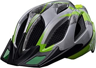 KED Casco bicicletta casco bicicletta bambini K-STAR 2019 LIGHTBLUE Taglia M 52-58 cm