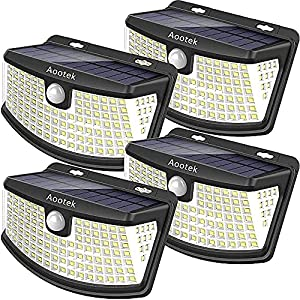 Aootek Outdoor Solar Light