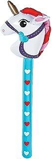 Inflatable Valentine Stick Unicorn - Vinyl. Inflated, 34