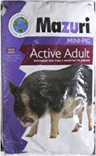Mazuri Mini Pig Active Adult Food, 25 lb Bag
