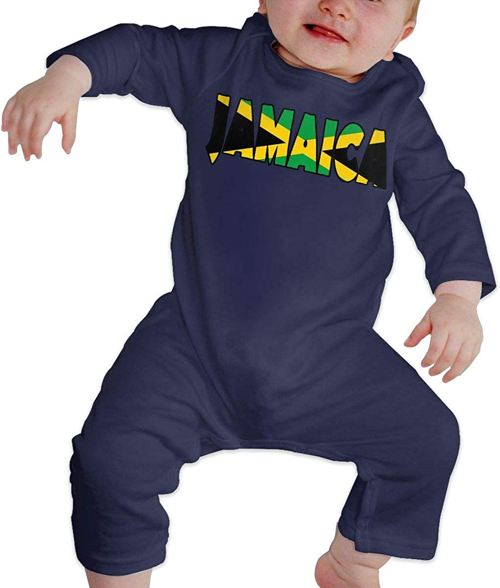 maichengxuan Bodysuit Jamaica Baby Climbing Clothing Baby Long Sleeve Garment Unisex Design Looks Great On Newborn 6-24 Months