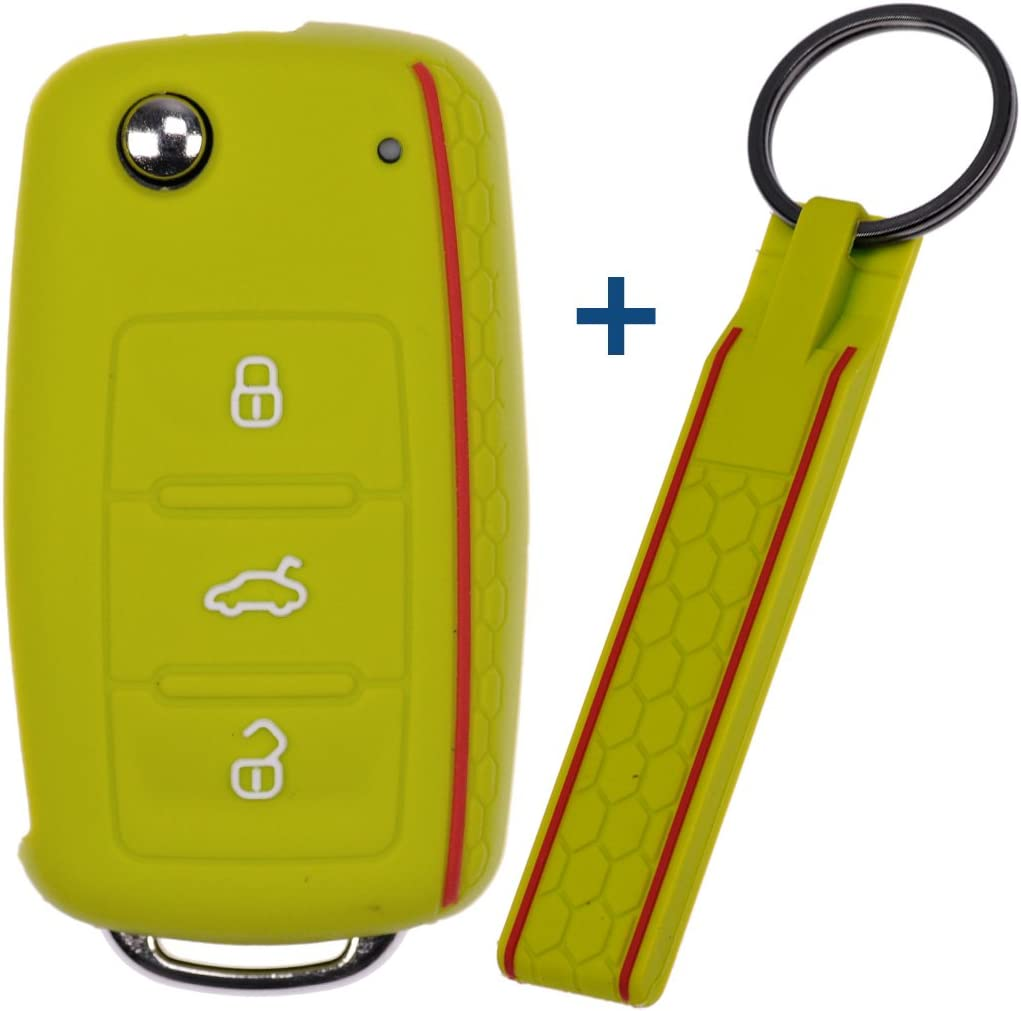 Soft Case Schutz Hülle Auto Schlüssel Schlüsselband Elektronik