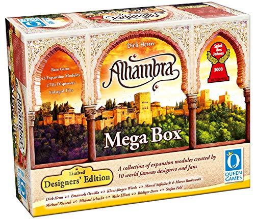 Queen Games 10452 - Alhambra - Mega Box