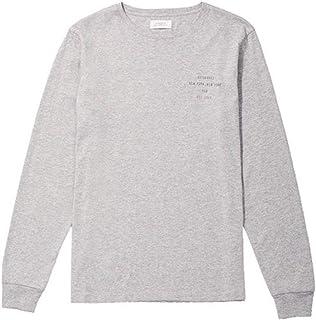 [サタデーズサーフ ニューヨーク] ロンT 長袖Tシャツ Established Chest L/S Tee 6595076 [並行輸入品]