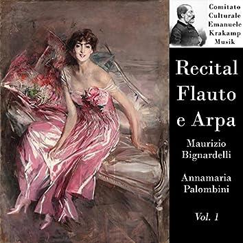 Recital flauto e arpa, vol. 1