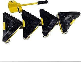 zwenkwielen met rem, Caster Wheels Set van 4 kleuren Meubels Lifter Moves Wheels Mover Sliders Kit 660 lbs Home Moving Sys...