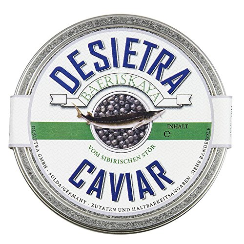 Desietra Baeriskaya Kaviar (baerii), Aquakultur, ohne Konservierungsm., 125g