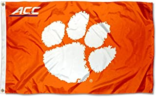 College Flags and Banners Co. Clemson University Tigers Acc 3x5 Flag