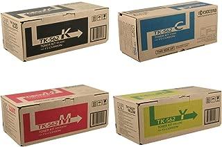 Kyocera TK562 (TK-562) 4-Color Toner Cartridge Set for FS-C5300DN