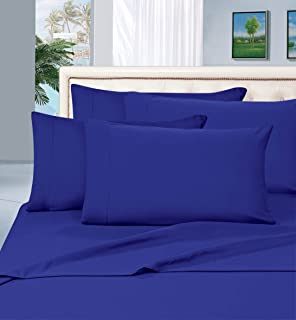 Best Elegant Comfort Luxurious Pillowcases on Amazon 1500 Thread Count Wrinkle,Fade and Stain Resistant 2-Piece Pillowcases- Hypoallergenic, Standard Size - Royal Blue Reviews