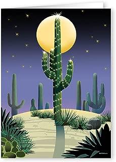 Desert Saguaro Holiday Card - 18 Cards & Envelopes