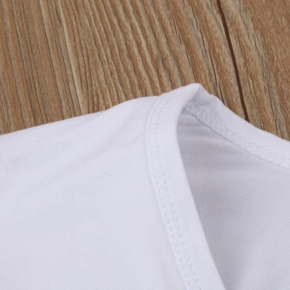 Verano Camiseta de Manga Corta Blanca para Hombre Moda Estampado Calaveras t-Shirt b/ásico Suelto Casual Camisa Deportivo Sudadera Camisetas Hombre Originales