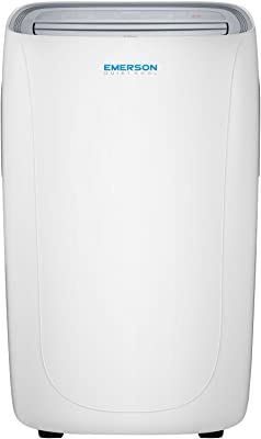 Emerson Quiet Kool 150-Sq. Ft, EAPC8RD1 Portable Air Conditioner with Remote Control for Rooms, White