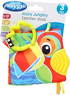 Playgro Jazzy Jungle Teether Book, Piece of 1