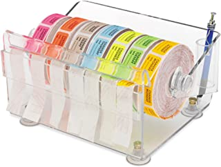 Clearform ML1549 Acrylic Pre-Cut Label Dispenser, 4.5