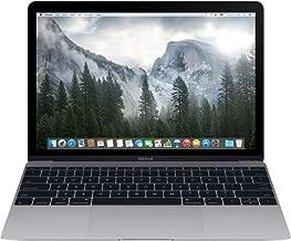 Apple Macbook MLH72LL/A, 12-inch Retina Display, Intel Core m3, 256GB - Space Gray (Early 2016) (Renewed)