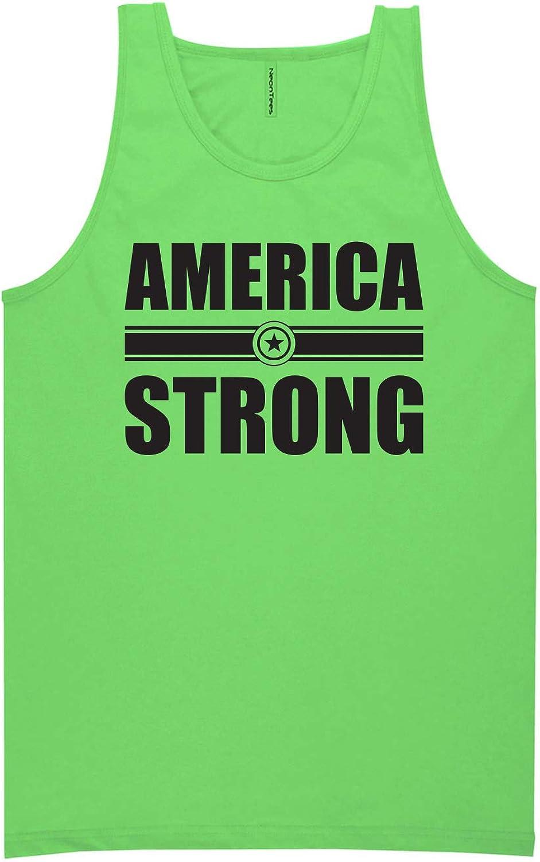 zerogravitee America Strong Neon Tank Top