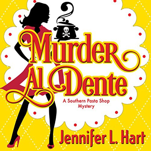 Murder Al Dente audiobook cover art