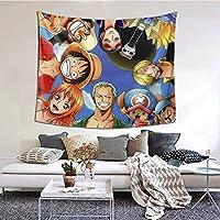 One Pieceサンジ1 多機能 壁掛 けタペストリー 個性 装飾用品 壁 窓の装飾 カーテン 模様替え リビングの飾り寝室居間部屋飾り(152x130cm)