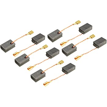 20pcs Uxcell Electric Drill Motor Carbon Brushes 15.5 x 8 x 5mm