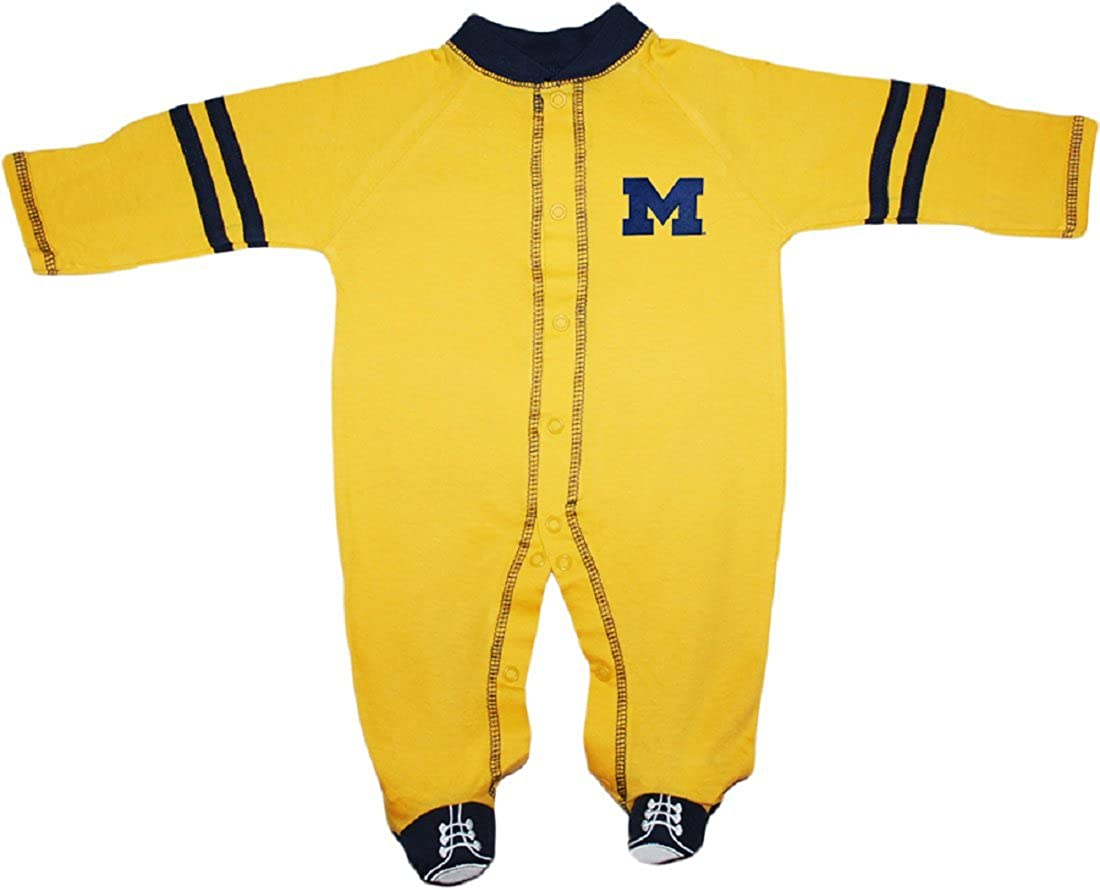 University of Michigan Wolverines Block Direct stock discount Max 54% OFF M Bab Sports Shoe Footed