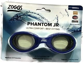 Zoggs Phantom JR Silicone Soft Frame Goggle for Kids (S/M)