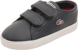 775cffdcae29 Lacoste Infant Marcel HTB Sneakers in Dark Blue Red