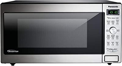 PANASONIC Compact Microwave Oven Built In / Countertop with Inverter Technology and 1250W of Cooking Power - NN-SD745S - 1.6 cu. Ft (Stainless Steel / Silver)