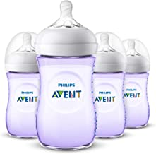 avent bottles purple