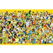Wapipey Anime Simpson Holzpuzzle Erwachsene Dekomp