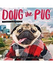 Doug the Pug 2022 Mini Wall Calendar