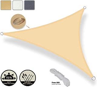 AXT SHADE Toldo Vela de Sombra Triangular 3 x 3 x 3 m,