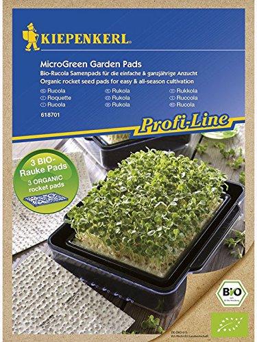 MicroGreen Garden Bio-Rucola Nachfüllpads 3 Stück