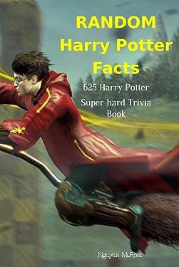 RANDOM Harry Potter Fact: 625 Harry Potter Super hard Trivia Book