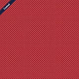 Hans-Textil-Shop Stoff Meterware Punkte 2 mm - 1 Meter -