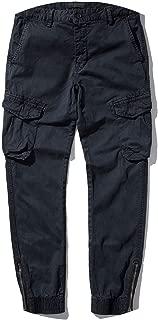 Street on Hip Hop Casual Cargo Pant Harem Pant Man Jogger Sweat Zipper Military Trousers 38,mid Grey,28