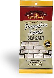 Harvest Roast: Slow Roasted Sea Salt Pumpkin Seeds 2 Oz (12 Pack)