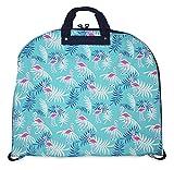 Ever Moda Tropical Flamingo Hanging Garment Bag